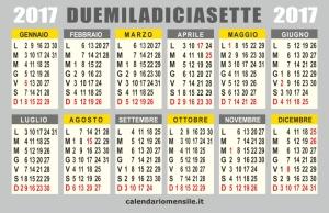 calendario-2017-annuale-vettoriale1
